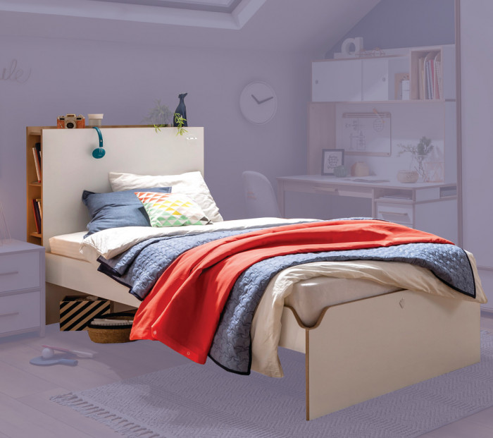 Cilek MODERA Bett mit Stauraum, 120x200 cm