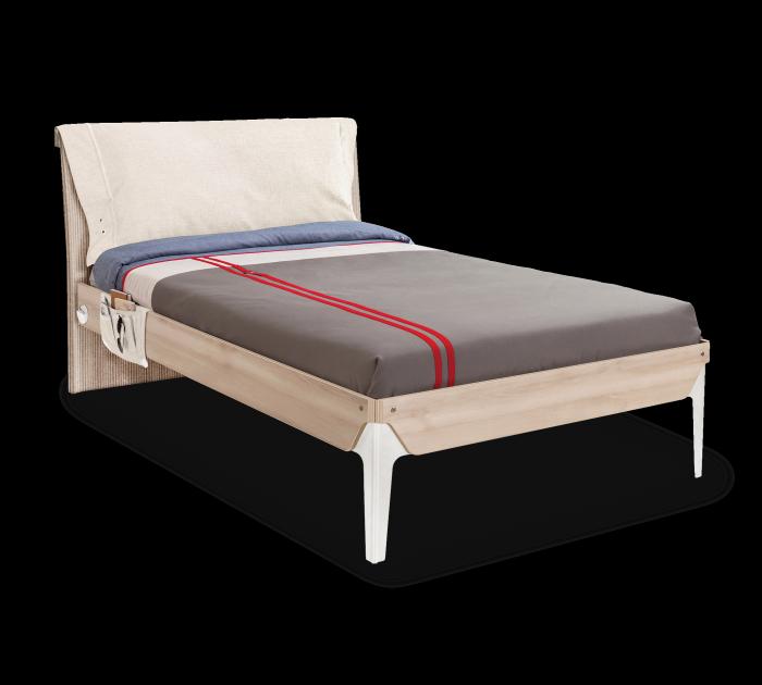 Cilek DUO Bett mit Kissen, 120x200 cm