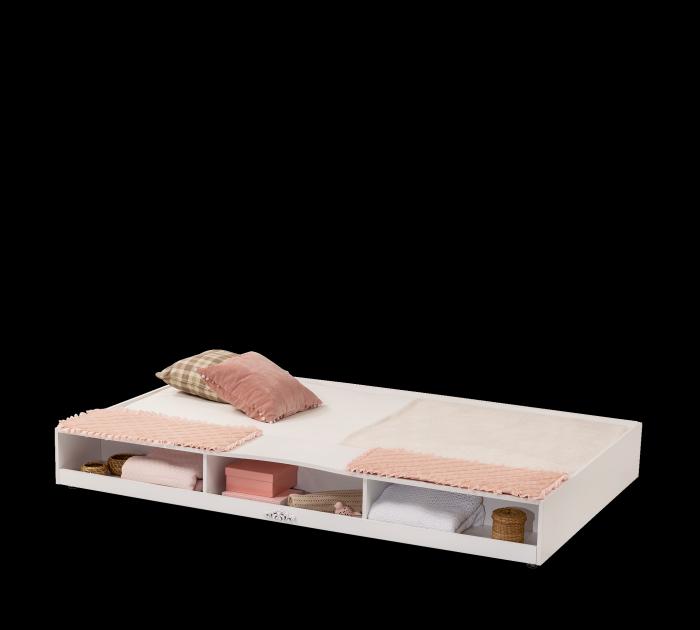 Cilek Bettkasten / Ausziehbett ROMANTICA, 90 x 190 cm