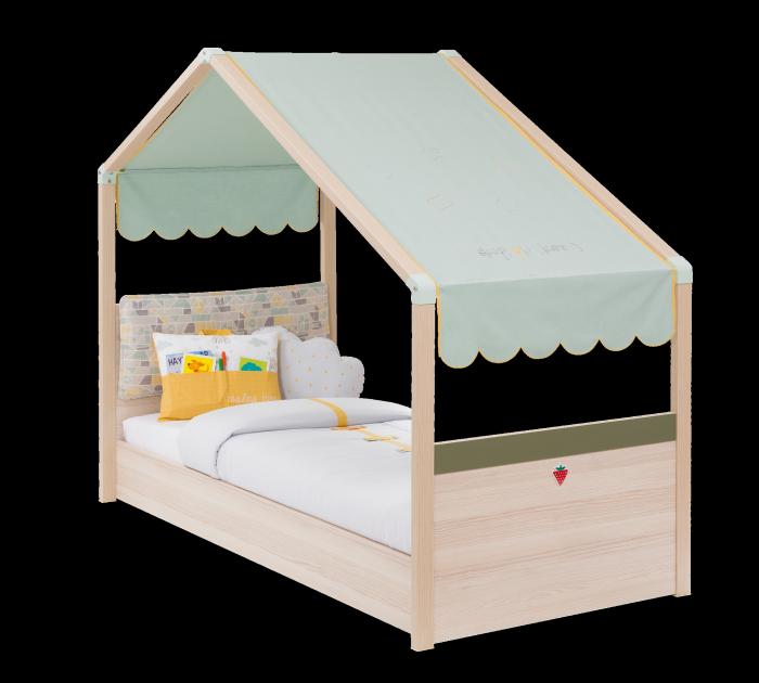 Cilek Kinderbett MONTE mit Markise, 90x200 cm