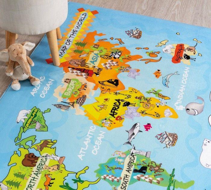 Cilek WORLD Spielteppich, 100x150 cm