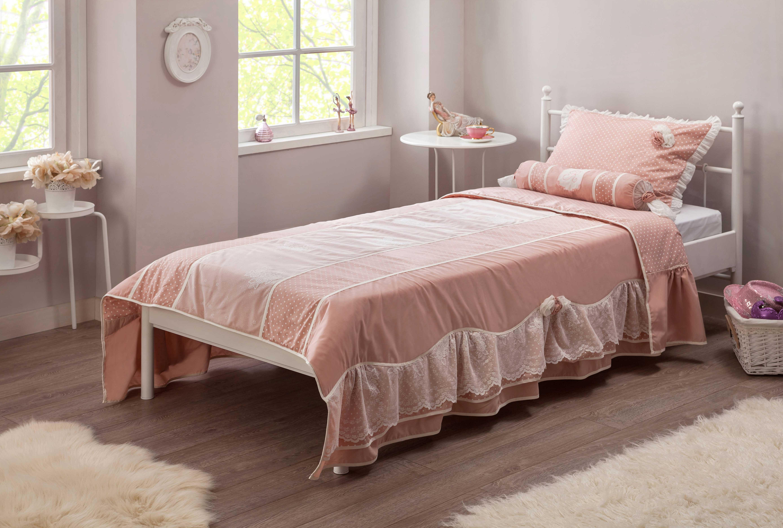 cilek romantic dream tagesdecke 90 100 cm mit kissen. Black Bedroom Furniture Sets. Home Design Ideas