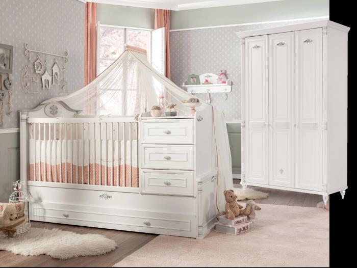 Cilek ROMANTIC Babyzimmer, 2-tlg.