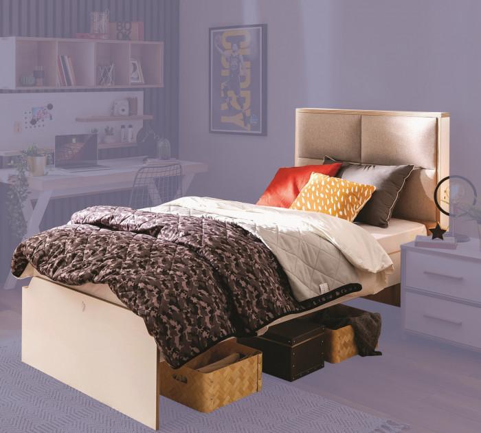 Cilek MODERA Bett mit Polsterung, 120x200 cm